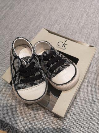 zapatos bebé Calvin Klein