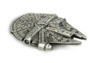 Imán de nevera del Halcón Milenario de Star Wars
