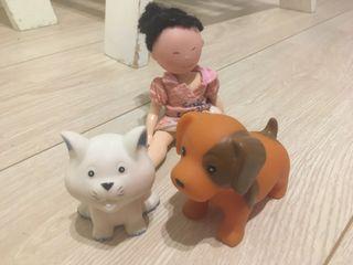 Set de 3 muñecos