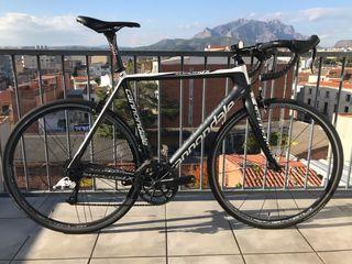 Bicicleta Cannondale Supersix carbono