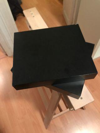 URGE VENDER 2 estantes LACK de Ikea negros