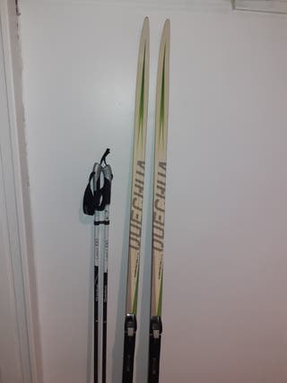 Esquís de fondo de gama alta