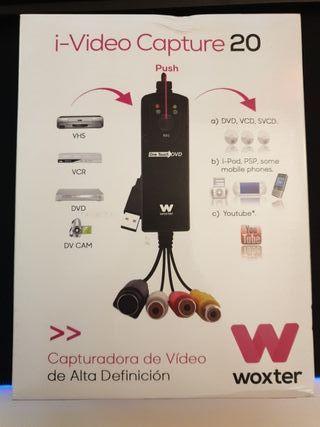 Capturadora de Vídeo i-Video Capture 20 Woxter