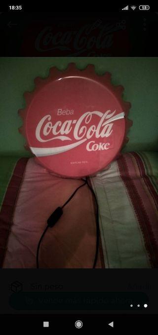 lampara chapa cocacola