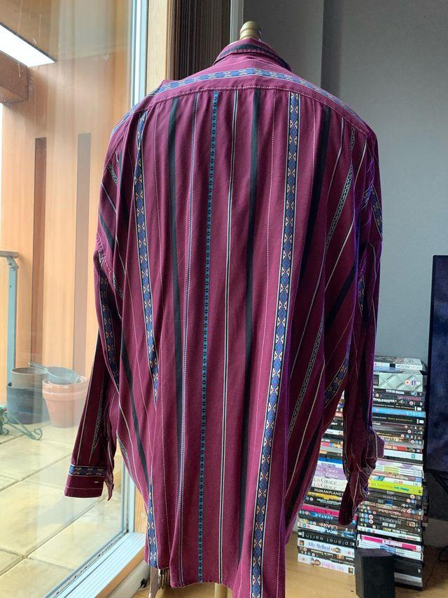 ASOS DESIGN festival oversize vintage stripe shirt
