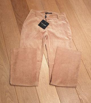Pantalón de pana de mujer