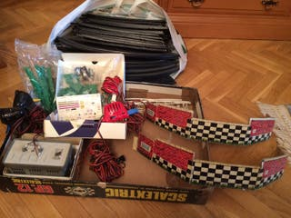 Scalextric antiguo sin coches