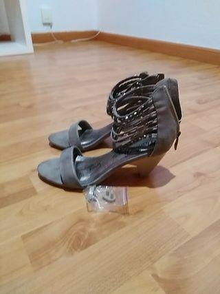 sandalias de verano tacón