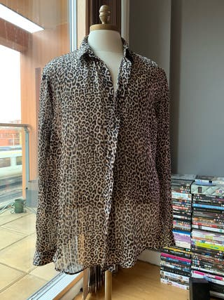 ZARA MAN leopard printed shirt