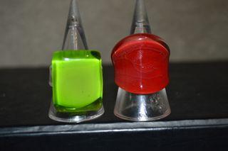 Glass rings