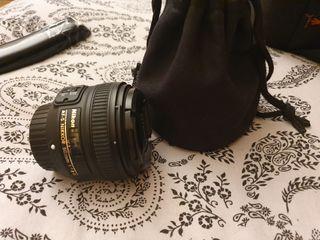 objetivo nikkor 50mm