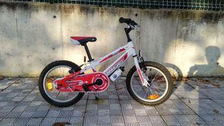 Bici Conor 16 pulgadas para niño o niña