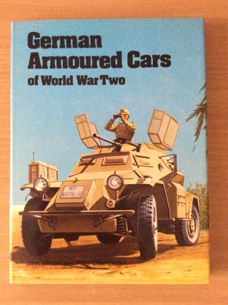 Libro German Armoured Cars of WWII