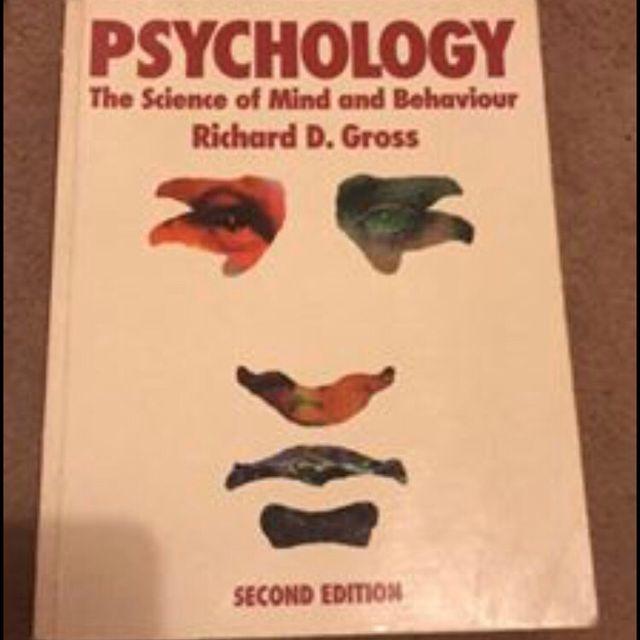 Gross psychology text book