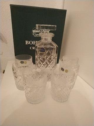 Juego Cristal de Bohemia Whisky