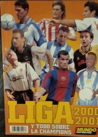 Revista: liga 2000-2001. Haz una oferta