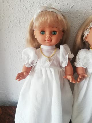 lote de muñecas de comunión de los años 70