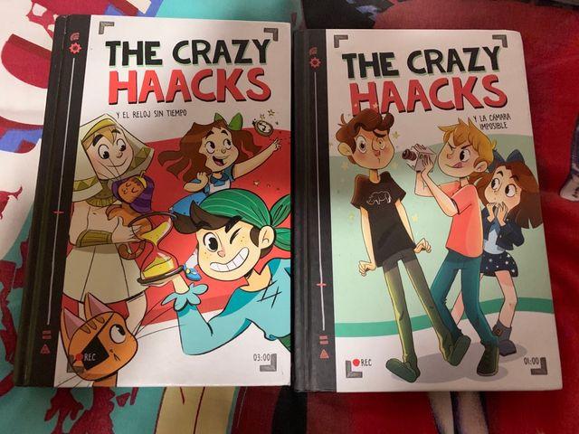 Libros de the Crazy haacks