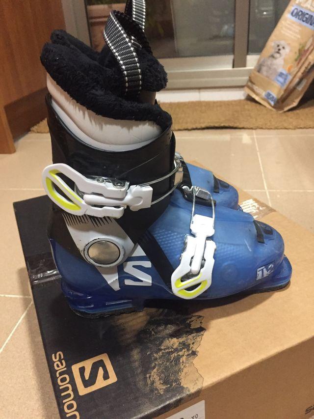 Botas esquiar Salomon 2017-2018 JuniorT2