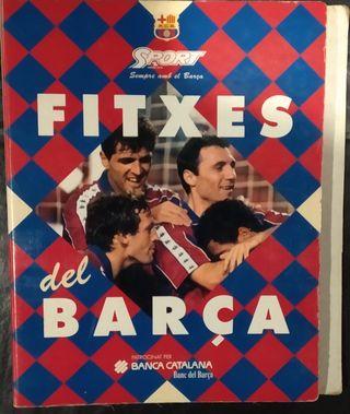 Fichas del Barça