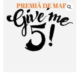 MERCADILLO GIVE ME 5! [ANULADO]