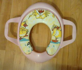 Reductor de taza wc para niños