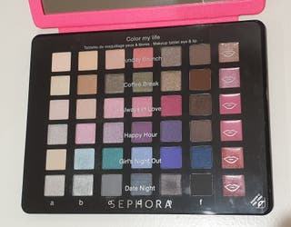 Paleta de maquillaje Sephora