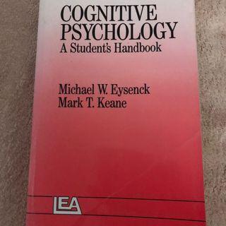 Cognitive psychology text book