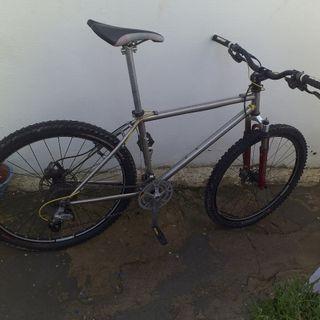 bicicleta tange ultimate superlight mtb