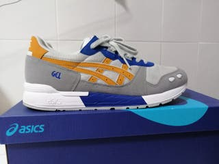 Asics Gel azul/amarillo/gris