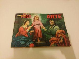 Album cromos antiguo ARTE