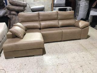 Sofa cheslong cargador movil