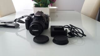 Canon EOS 1200 D ,2 objetivos y bateria.