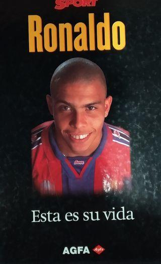 Libro Ronaldo Nazario