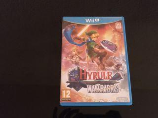 Hyrule Warriors Wii U seminuevo