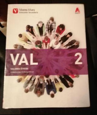 libro de valores éticos 2eso