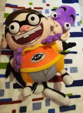 Divertida pareja de muñecos de Fanboy y Chum chum