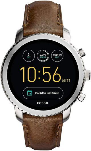 Fossil Q - Reloj Digital Correa de Cuero, FTW4003