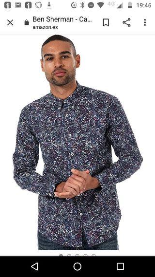 Camisa Ben Sherman Paisley