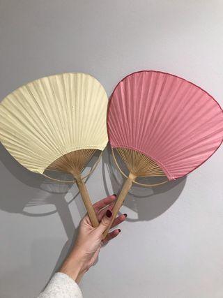 Abanicos decorativos estilo japonés