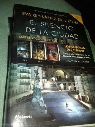 El silencio de la ciudad blanca. Eva García Sáenz