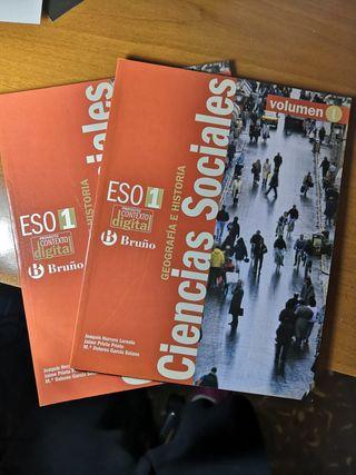 Libros Ciencias Sociales ESO 1