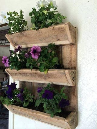 Estante/Jardinero plantas y hierbas de pallet
