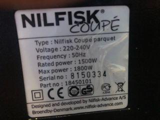 aspirador nilfisk coupe parquet aspiradora