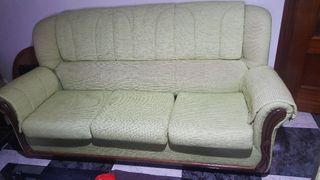 tresillos sofá de tres y dos sillones
