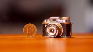 Colly Cámara Fotografía Miniatura Vintage