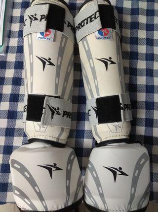 Protecciones taekwondo