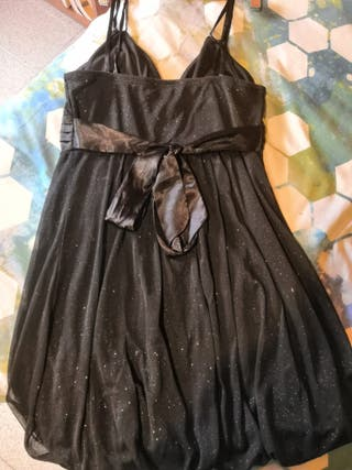 Vestido negro Formula Joven