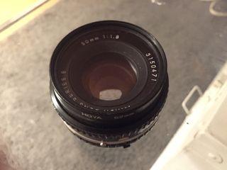 Objetivo Nikon E 50mm 1.8 pancake
