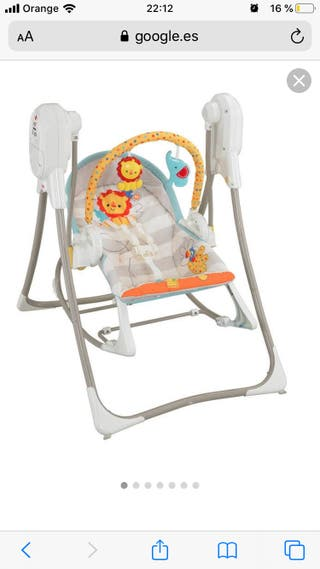 Columpio hamaca 3 en 1 Fisher Price
